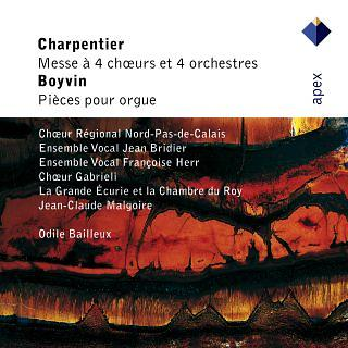 Charpentier:Mass For 4 Choirs & Boyvin:Organ Works