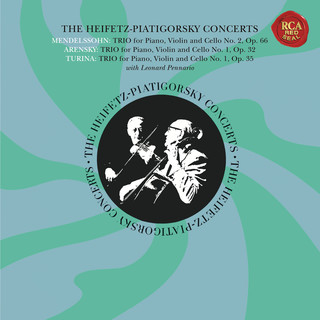 The Piano Trio Collection - Mendelssohn:Trio No. 2 In C Minor, Op. 66 - Arensky:Trio No. 1 In D Minor, Op. 32 - Turina:Trio No. 1, Op. 35 - Heifetz Remastered