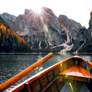 Relaxing Oars Sound On A Boat