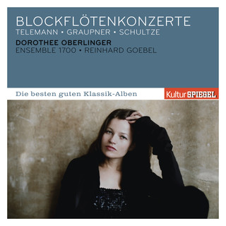 Telemann, Graupner, Schultze:Blockflötenkonzerte
