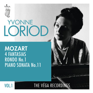Mozart:4 Fantasias, Rondo No.1, Piano Sonata No.11