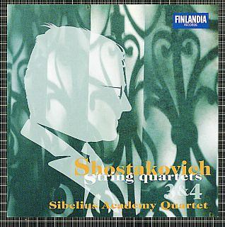 Dmitri Shostakovich:String Quartets No. 3 & No. 4