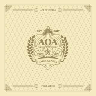 AOA 首張正規專輯 ANGEL'S KNOCK