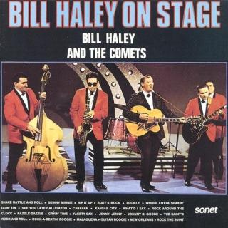 Bill Haley On Stage