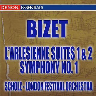 Bizet:L'arlesienne Suite - Symphony No. 1