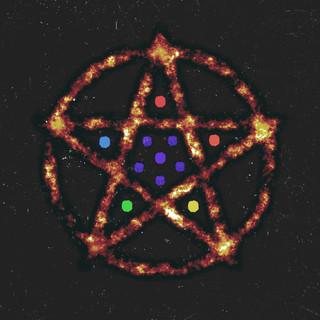 The Rainbow Pentagram