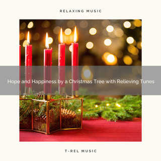 Hope And Happiness By A Christmas Tree With Relieving Tunes