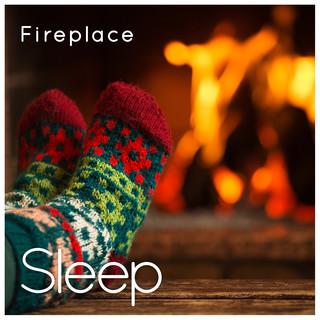 Sleep By Fireplace In Cabin