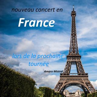 Nouveau Concert En France, Lors De La Prochaine Tournée