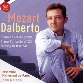 Mozart:Piano Concertos No. 20 And 22, Fantasy In D Minor