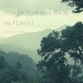 Heavy Summer Rain With Thunder In Forest For Relaxation, Deep Sleep, Insomnia, Meditation And Study