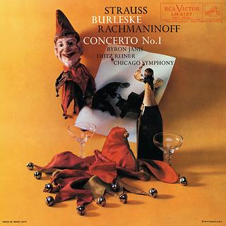 Rachmaninoff :Concerto Or Piano And Orchestra No. 1 In F-sharp Minor Op. 1; Strauss: Burleske For Piano And Orchestra In D Minor