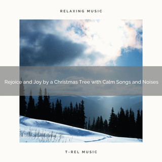 Rejoice And Joy By A Christmas Tree With Calm Songs And Noises
