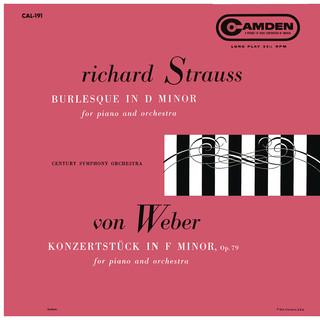 Strauss:Burleske D Minor, TrV 145 - Weber:Konzertstück For Piano And Orchestra In F Minor, Op. 79