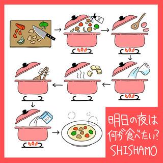 明日の夜はなにが食べたい? (Ashitanoyoruhananigatabetai ? )
