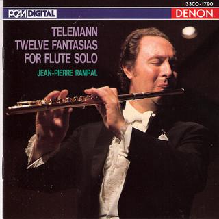 Telemann:Twelve Fantasias For Flute Solo
