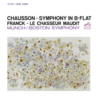 Chausson:Symphony In B - Flat Major, Op. 20 - Franck:Le Chasseur Maudit, FWV 44