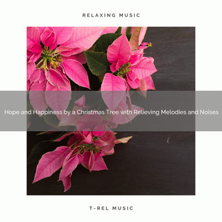 Hope And Happiness By A Christmas Tree With Relieving Melodies And Noises