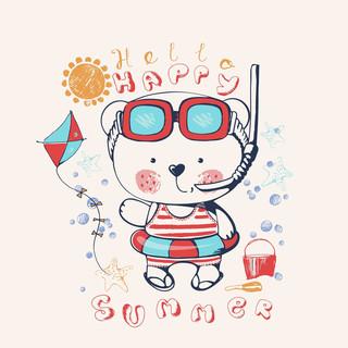 快樂的夏天 (Hello Happy Summer)