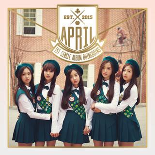 APRIL 1st Single Album \'Boing Boing\'