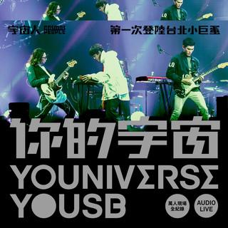 你的宇宙YOUNIVERSE YOUSB 宇宙人第一次登陸台北小巨蛋 萬人現場全紀錄 Audio Live (YOUNIVERSE YOUSB Audio Live)