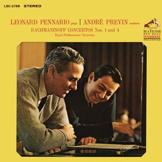 Rachmaninoff:Piano Concerto No. 1 In F - Sharp Minor, Op. 1 & Piano Concerto No. 4 In G Minor, Op. 40