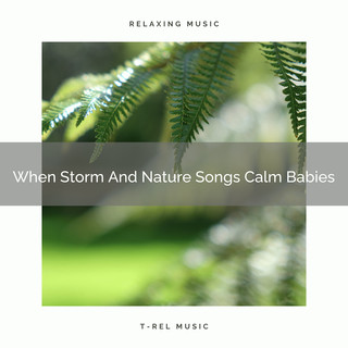 When Storm And Nature Songs Calm Babies