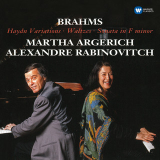 Brahms:Haydn Variations, Op. 56b, Waltzes, Op. 39 & Sonata In F Minor, Op. 34b
