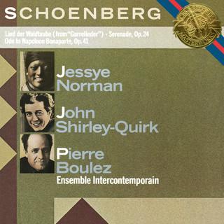 Schoenberg:Serenade, Op. 24, Lied Der Waldtaube & Ode To Napoleon Buonaparte, Op. 41