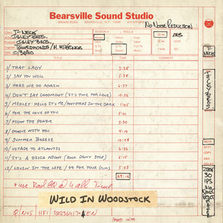 Wild In Woodstock:The Isley Brothers Live At Bearsville Sound Studio (1980)