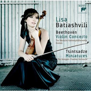 Beethoven:Violin Concerto & Tsintsadze:Miniatures