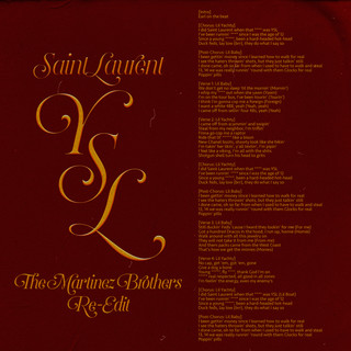 SaintLaurentYSL (The Martinez Brothers Re - Edit)