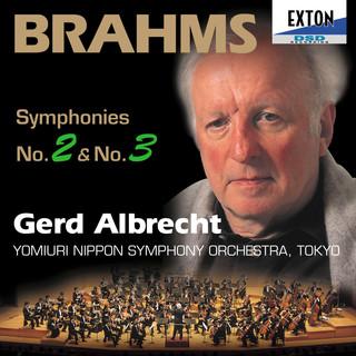 ブラームス:交響曲第 2番&交響曲第 3番 ゲルト・アルブレヒト(指揮) 読売日本交響楽団