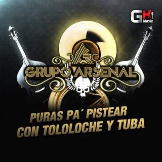 Puras Pa Pistear, Con Tololoche y Tuba (En Vivo)