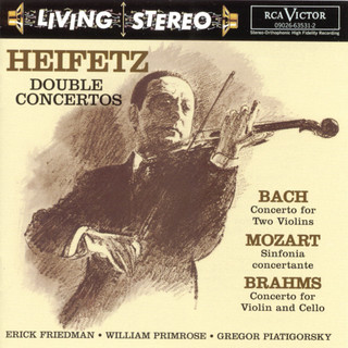 Bach:Concerto For Two Violins / Mozart:Sinfonia Concertante / Brahms:Double Concerto