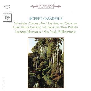 Saint - Saëns:Piano Concerto No. 4 - Fauré:Ballade & Préludes 1, 3 & 5