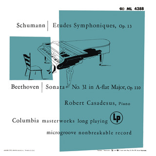 Schumann:Symphonic Etudes For Piano - Beethoven:Piano Sonata No. 31 (Remastered)