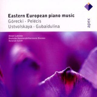 Gubaidulina , Ustvolskaya , Gorecki & Pelecis:Piano Concertos