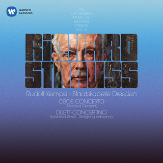 Strauss, R:Oboe Concerto & Duett - Concertino For Clarinet, Bassoon And Strings