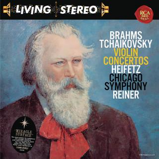 Brahms:Violin Concerto In D Major, Op. 77 - Tchaikovsky:Violin Concerto In D Major, Op. 35 - Heifetz Remastered