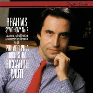 Brahms:Symphony No. 2; Academic Festival Overture