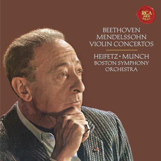 Beethoven:Violin Concerto In D Major, Op. 61 - Mendelssohn:Violin Concerto In E Minor, Op. 64 - Heifetz Remastered