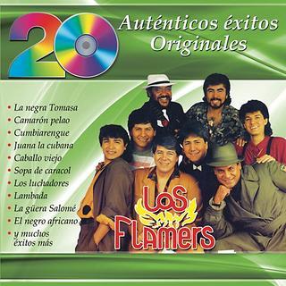 20 Autenticos Exitos Originales - Los Flamers