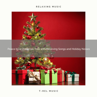 Peace By A Christmas Tree With Relieving Songs And Holiday Noises