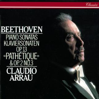 Beethoven:Piano Sonatas Nos. 3 & 8 \