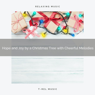 Hope And Joy By A Christmas Tree With Cheerful Melodies