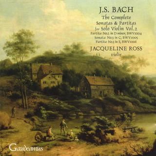 Bach:Sonata For Solo Violin No. 3; Partitas Nos. 2 - 3