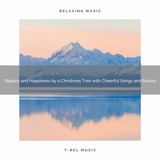 Rejoice And Happiness By A Christmas Tree With Cheerful Songs And Noises