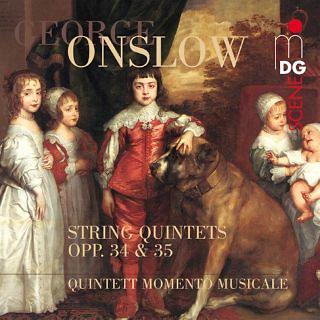 Onslow:String Quintets, Op. 34 & 35