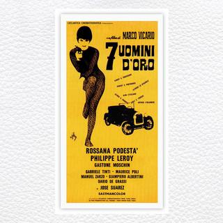 Sette Uomini D\'Oro (Original Motion Picture Soundtrack)